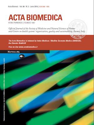 Rattan Di Russo Eugenio.Vol 89 No 2 2018 Acta Bio Medica Atenei Parmensis