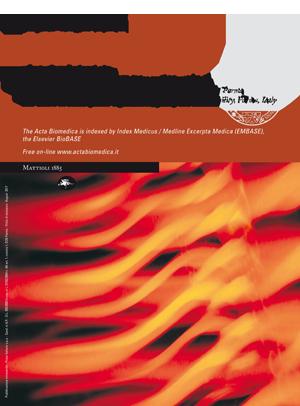 Vol 88 No 2 (2017): Acta BioMed 2-2017 | Acta Bio Medica